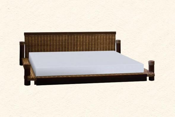 Кровать Невада из ротанга BDS30