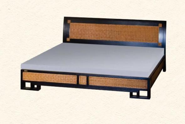 Кровать Орегон из ротанга BDS31