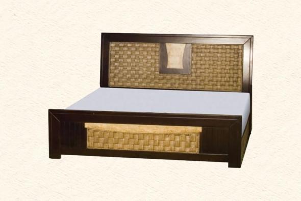 Кровать Каролина из ротанга BDS33