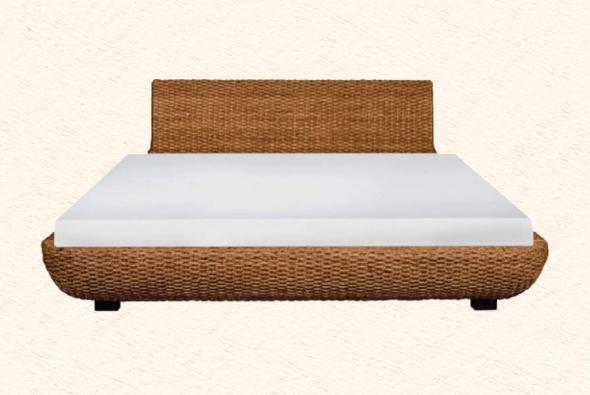 Кровать Техас из ротанга BDS34