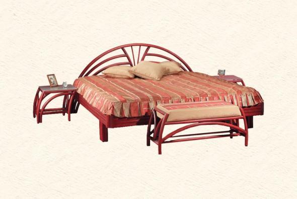 Спальный гарнитур Элика из ротанга BDS36