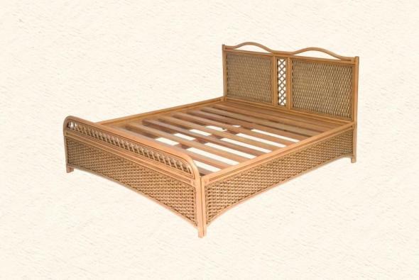 Кровать Эвита из ротанга BDS38