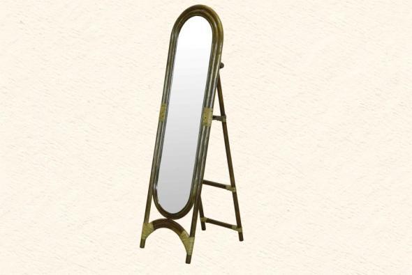 Зеркало Мирина из ротанга Z1
