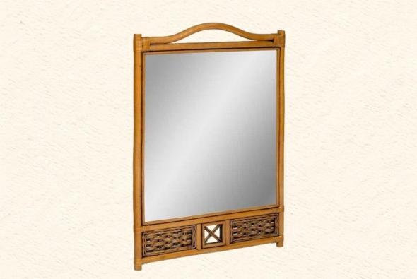 Зеркало Тревизо из ротанга Z8