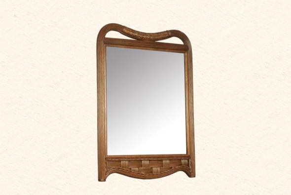 Зеркало Болеро из ротанга Z9