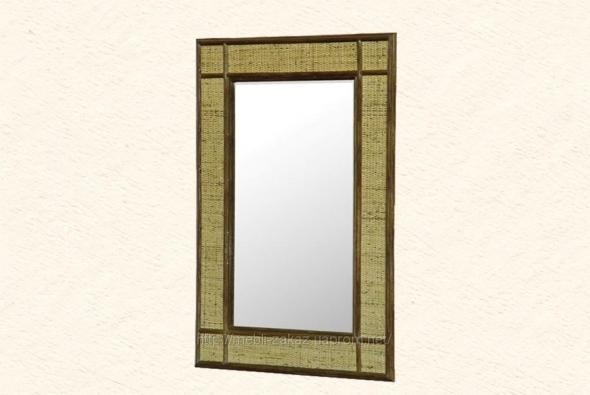 Зеркало Ариозо из ротанга Z10