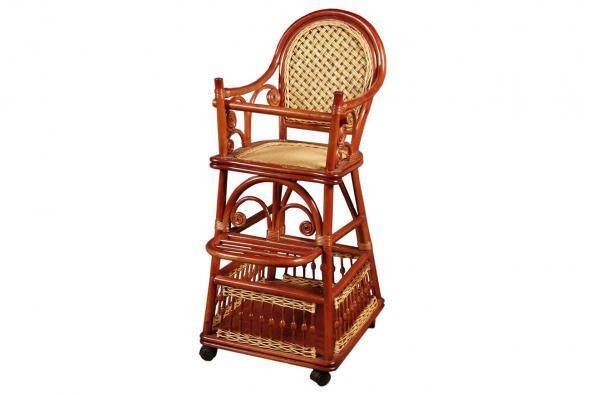 Плетеный детский стульчик Оскар из ротанга A3
