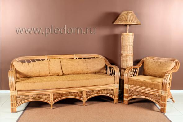 Мягкая мебель Анна из ротанга SET12