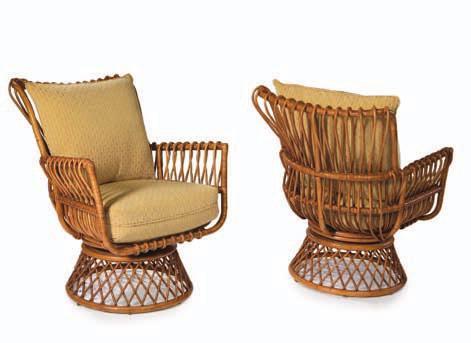 Кресло Георгия из ротанга AR41