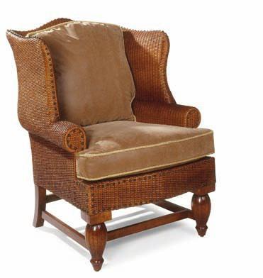 Кресло Роланд из ротанга AR54