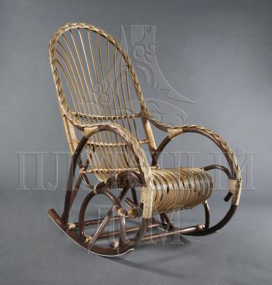 Кресло-качалка Красавица из ротанга ARS8