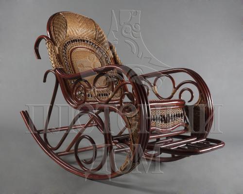 Кресло-качалка Стюарт из ротанга ARS9