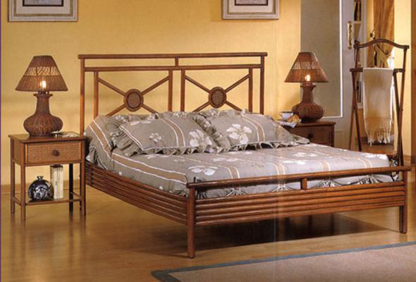 Спальный гарнитур Лилия из ротанга BDS15