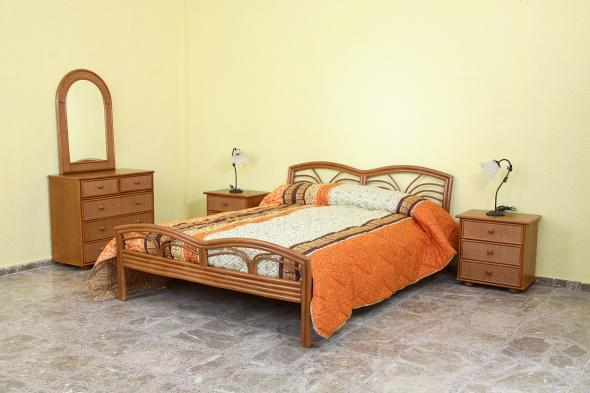 Спальный гарнитур Харита из ротанга BDS55