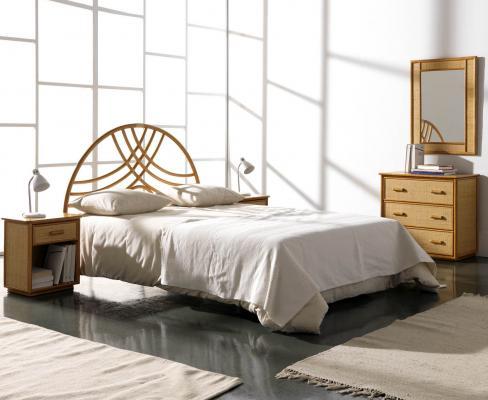 Спальный гарнитур Сабина из ротанга BDS57