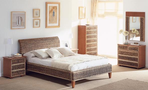 Спальный гарнитур Оливия из ротанга BDS61