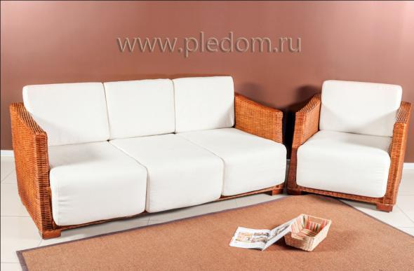 Мягкая мебель Бисмарк из ротанга SET67