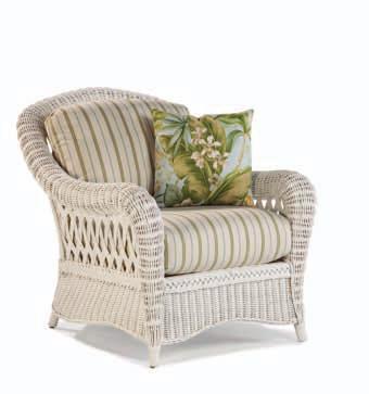 Кресло Лионелла из ротанга SET86-2