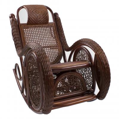 Кресло-качалка Мадейра из ротанга ARS 1
