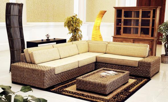 Комплект мягкой мебели Адажио из ротанга 1145