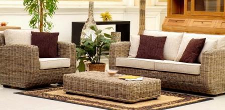 Комплект мягкой мебели Жанна из ротанга 1176