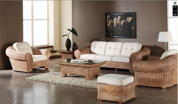 Комплект мягкой мебели Адольф из ротанга 1181