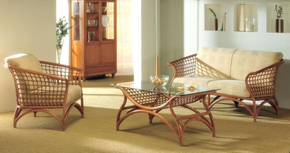 Комплект мягкой мебели Манито из ротанга 1151