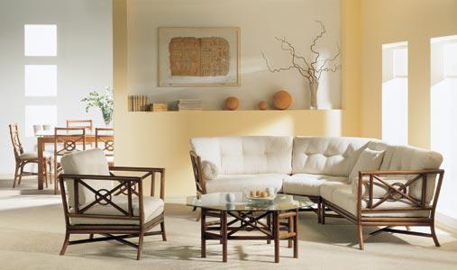 Комплект мягкой мебели Бристоль из ротанга 1147
