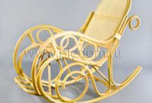 Кресло-качалка Династия из ротанга 1172