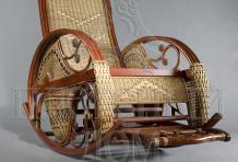 Кресло-качалка Валуа из ротанга ARS10