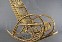 Кресло-качалка Лирика  из ротанга ARS17