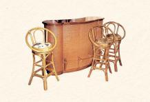 Барный стул Виола из ротанга B26