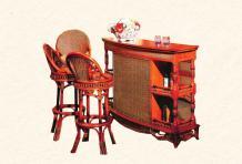 Барный стул Ажен из ротанга B27