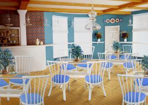 Плетеная мебель из ротанга для ресторанов и кафе